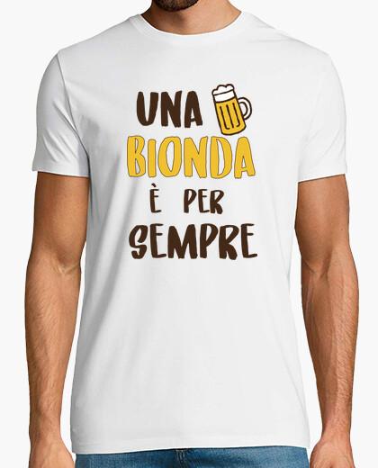 T-shirt Bionda