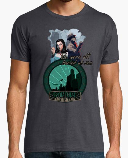 Camiseta Bioshock Burial At Sea