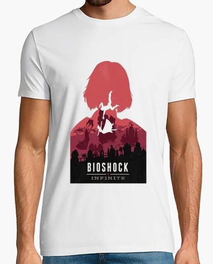 Camiseta Bioshock Infinite  Elisabeth rojo