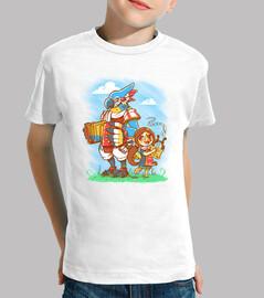 bird bards - day version - kids shirt