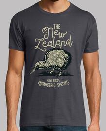 bird birds kiwi retro vintage style t shirt
