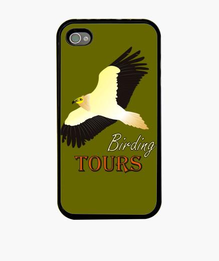Funda iPhone Bird watching. Funda para iphone Alimoche.