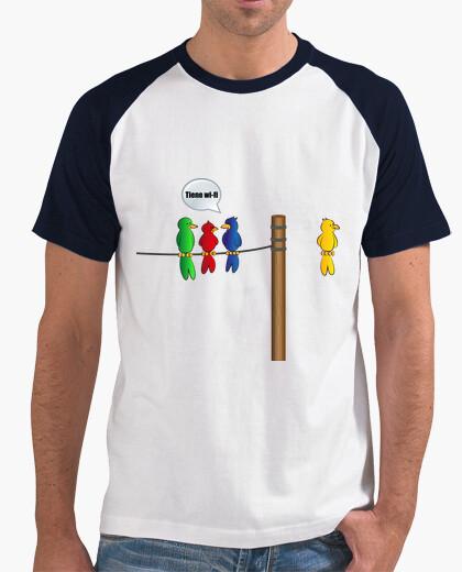 T-shirt bird wireless