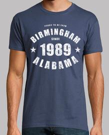 Birmingham Alabama depuis 1989
