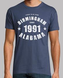Birmingham Alabama depuis 1991