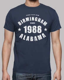 Birmingham Alabama since 1988