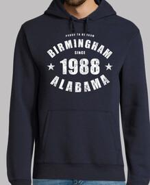 Birmingham Alabama since 1988
