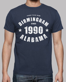 Birmingham Alabama since 1990