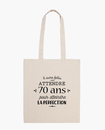 Birthday 70 years bag