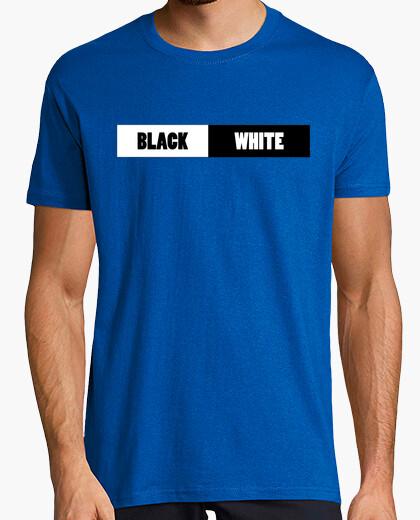 Camiseta Black and White Camisa