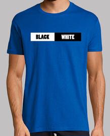 Black and White Camisa