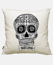black and white mexican skull !!!