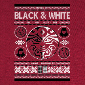 Camisetas Black and White Ugly Sweater