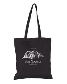 black bell puig fabric bag