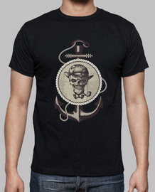 black boy sailor skull
