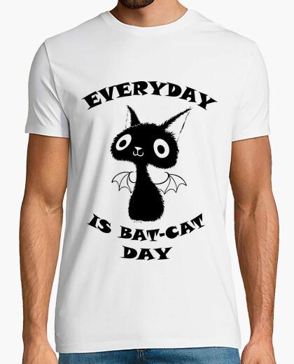 f8f873f7b black cat - shirt guy T-shirt - 1191083 | Tostadora.com
