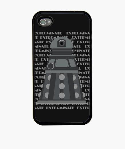 Funda iPhone Black Dalek IPh4