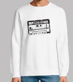 black hard rock cassette