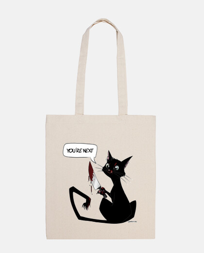 black killer cat bag
