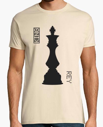 Camiseta Black King  / Rey Negras - HUMAN CHESS
