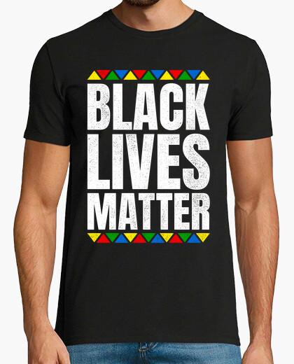 Camiseta Black Lives Matter contra el racismo