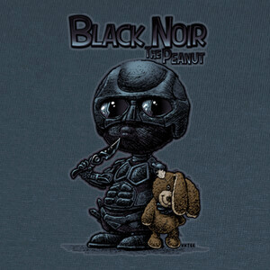 Tee-shirts Black Noir The Peanut