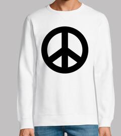 Black Peace Icon
