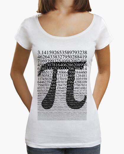 Black pi, woman t-shirt