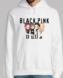 BLACK PINK - Hombre, jersey con capucha