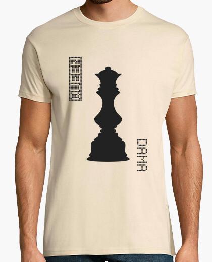 Camiseta Black Queen / Dama Negras - HUMAN CHESS