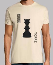 Black Rook / Torre Negras - HUMAN CHESS