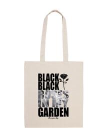 BLACK ROSES BAG