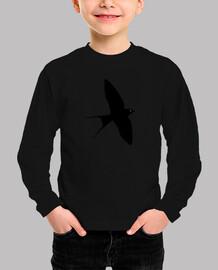 black swallow (child)