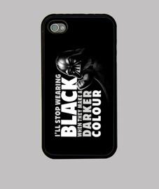 Black tee case