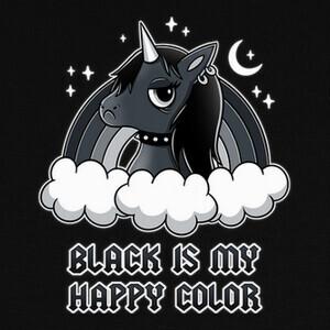Black Unicorn T-shirts