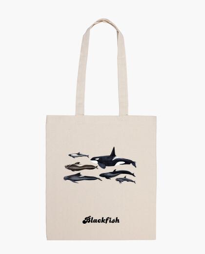 Borsa blackfish: orche e globicefali spalla