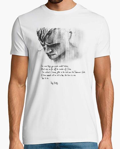 Camiseta Blade Runner, like tears in rain. Camisa