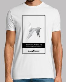 Blade Runner Unicornio. Fondo Claro. Camisa