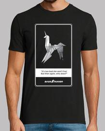 Blade Runner Unicornio. Fondo Oscuro. Camisa