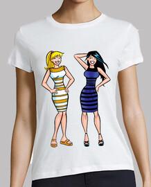 Blanco y dorado o azul y negro ?
