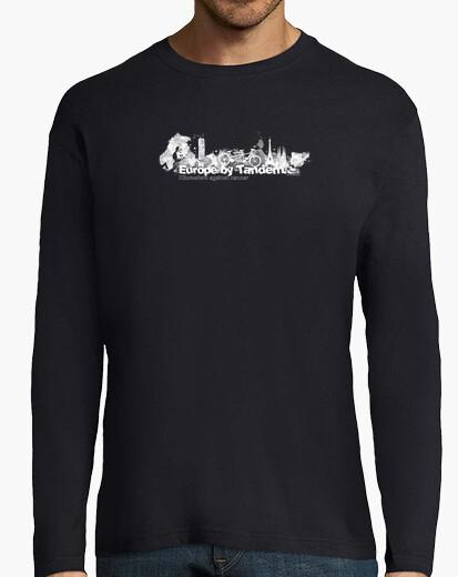 Blank europe tandem km 3 t-shirt