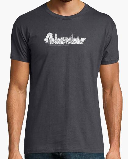 Blank europe tandem km 4 t-shirt