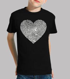 blank heart print
