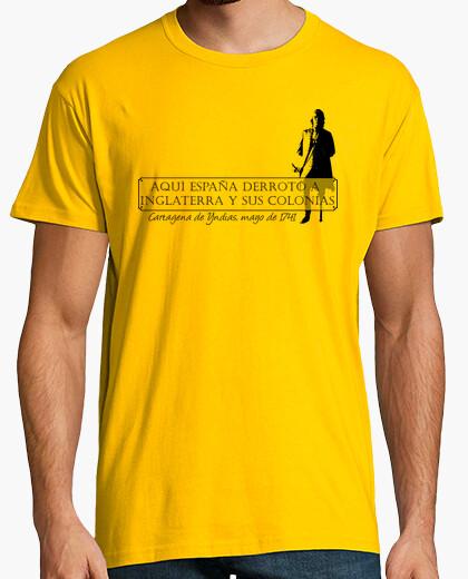 Blas de lezo (landscape) t-shirt