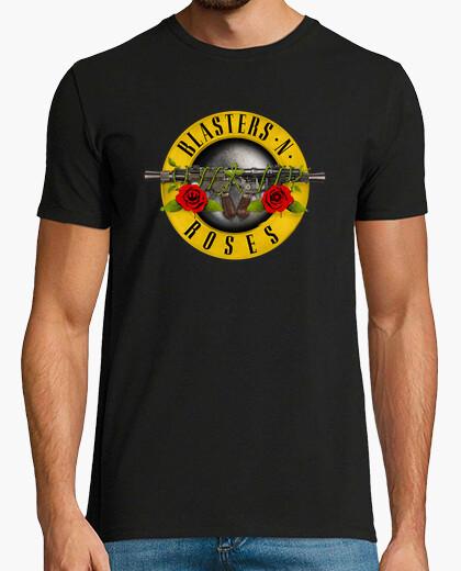 Camiseta Blasters N Roses