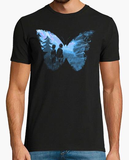T-Shirt blauer schmetterling