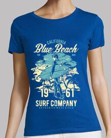 blauer Strand