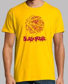 blaugrana shirt jaune - hommes