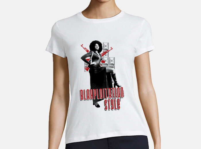 3dcf4f25 blaxploitation. pam grier. T-shirt - 709414 | Tostadora.co.uk