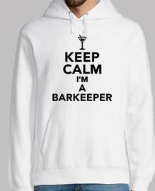 Bleib ruhig ich bin ein Barkeeper